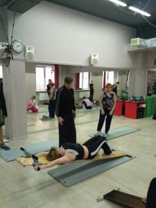 Открытые семинары, здоровая спина на доске Евминова