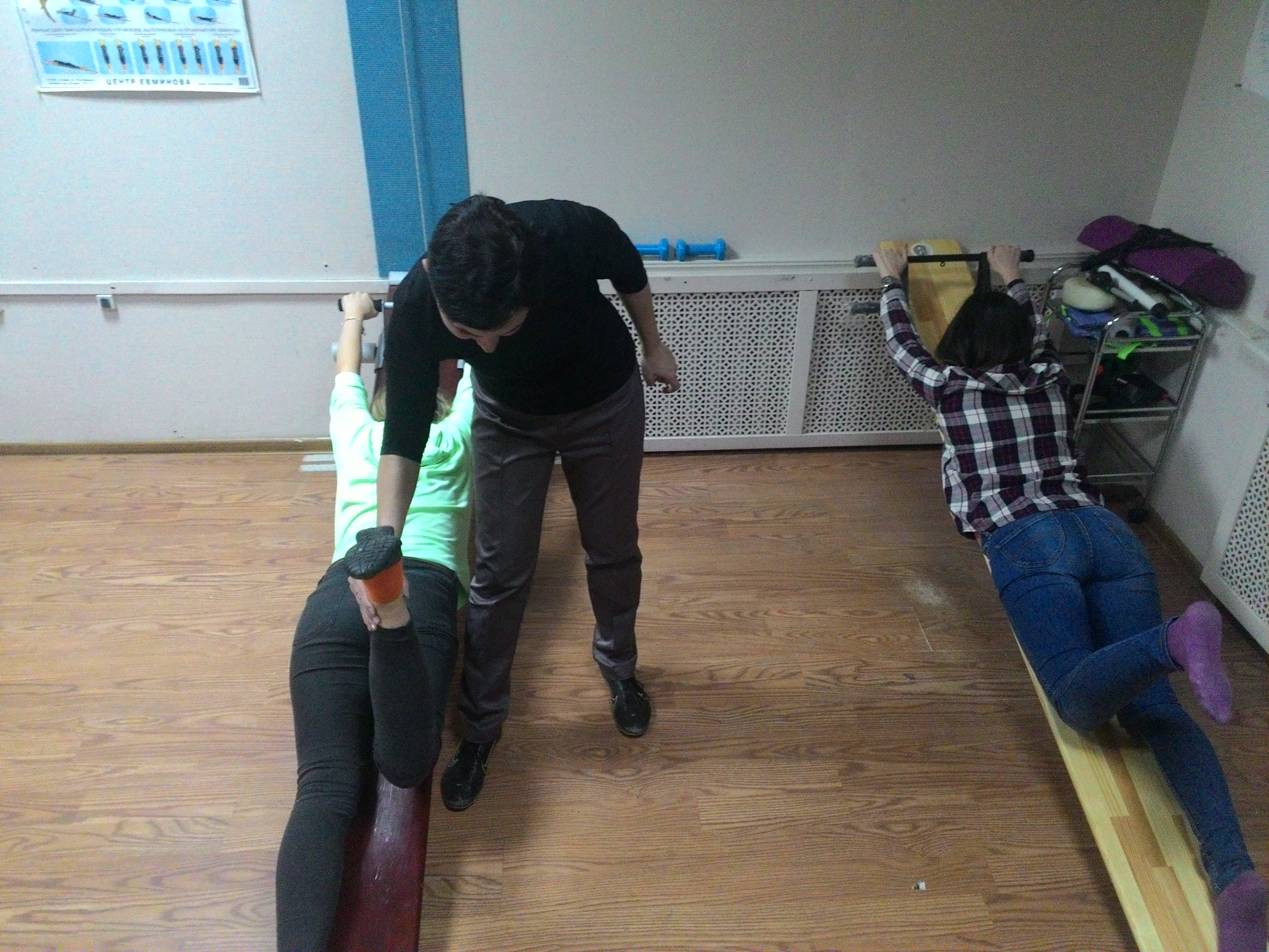 Упражнения для позвоночника с картинками при остеохондрозе